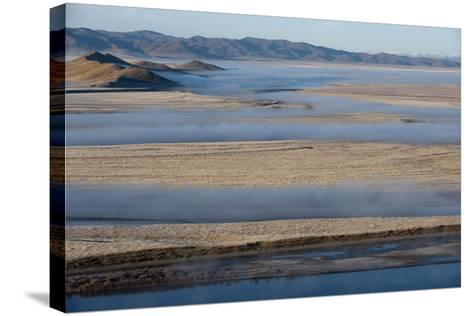 The Yellow River in Sichuan Province, the Second Longest River in China after the Yangtze, Sichuan-Alex Treadway-Stretched Canvas Print
