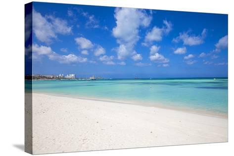 Palm Beach, Aruba, Lesser Antilles, Netherlands Antilles, Caribbean, Central America-Jane Sweeney-Stretched Canvas Print