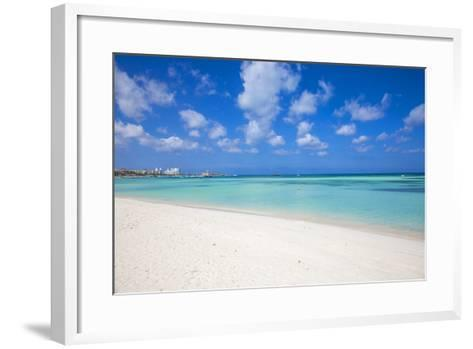 Palm Beach, Aruba, Lesser Antilles, Netherlands Antilles, Caribbean, Central America-Jane Sweeney-Framed Art Print