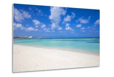 Palm Beach, Aruba, Lesser Antilles, Netherlands Antilles, Caribbean, Central America-Jane Sweeney-Metal Print