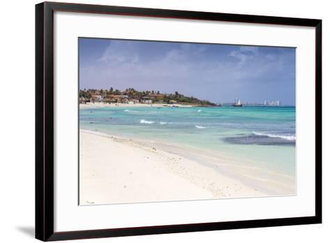 Arashi Beach, Aruba, Lesser Antilles, Netherlands Antilles, Caribbean, Central America-Jane Sweeney-Framed Art Print