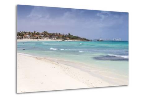 Arashi Beach, Aruba, Lesser Antilles, Netherlands Antilles, Caribbean, Central America-Jane Sweeney-Metal Print