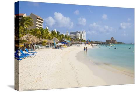 Palm Beach, Aruba, Netherlands Antilles, Caribbean, Central America-Jane Sweeney-Stretched Canvas Print