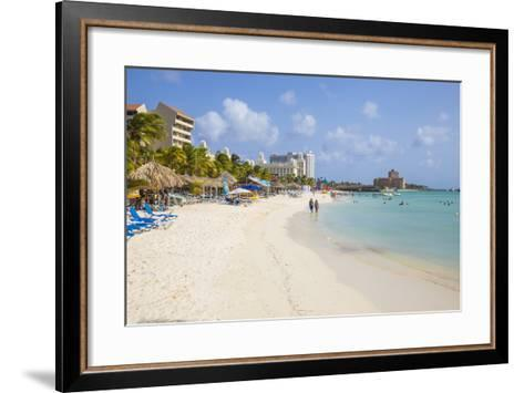 Palm Beach, Aruba, Netherlands Antilles, Caribbean, Central America-Jane Sweeney-Framed Art Print