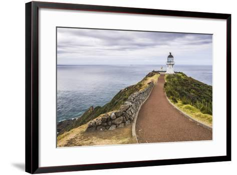 Cape Reinga Lighthouse (Te Rerenga Wairua Lighthouse), Aupouri Peninsula, Northland-Matthew Williams-Ellis-Framed Art Print