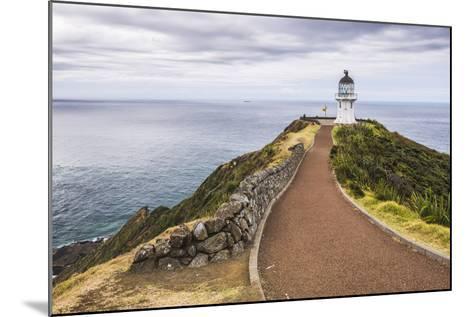 Cape Reinga Lighthouse (Te Rerenga Wairua Lighthouse), Aupouri Peninsula, Northland-Matthew Williams-Ellis-Mounted Photographic Print