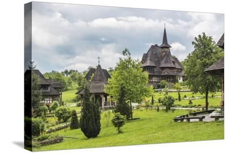 Barsana Monastery, One of the Wooden Churches of Maramures, UNESCO World Heritage Site-Matthew Williams-Ellis-Stretched Canvas Print