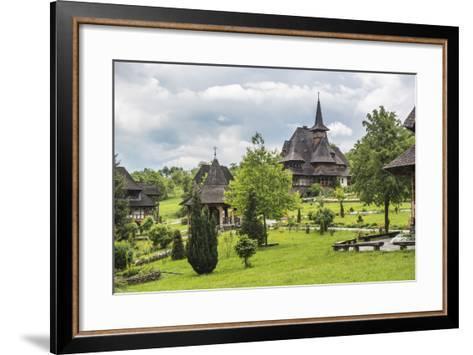 Barsana Monastery, One of the Wooden Churches of Maramures, UNESCO World Heritage Site-Matthew Williams-Ellis-Framed Art Print