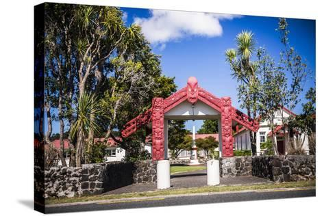 Maori Church, Waitangi Treaty Grounds, Bay of Islands, Northland Region, North Island-Matthew Williams-Ellis-Stretched Canvas Print