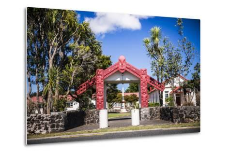 Maori Church, Waitangi Treaty Grounds, Bay of Islands, Northland Region, North Island-Matthew Williams-Ellis-Metal Print
