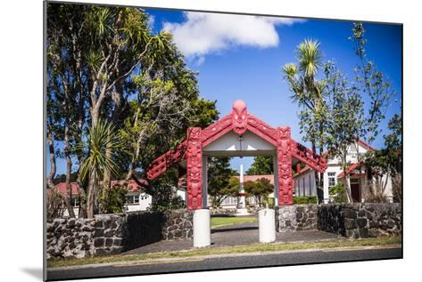 Maori Church, Waitangi Treaty Grounds, Bay of Islands, Northland Region, North Island-Matthew Williams-Ellis-Mounted Photographic Print