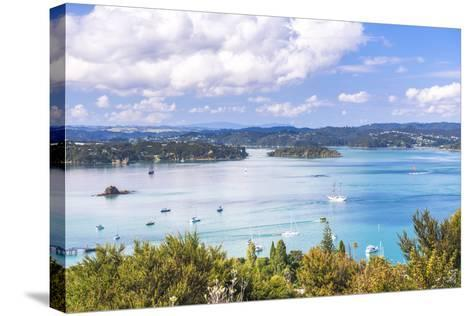 Bay of Islands Seen from Flagstaff Hill in Russell, Northland Region, North Island-Matthew Williams-Ellis-Stretched Canvas Print