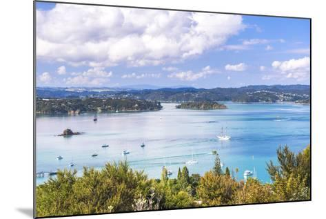 Bay of Islands Seen from Flagstaff Hill in Russell, Northland Region, North Island-Matthew Williams-Ellis-Mounted Photographic Print