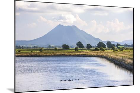 Mount Edgecumbe (Putauaki), Near Whakatane, Bay of Plenty, North Island, New Zealand, Pacific-Matthew Williams-Ellis-Mounted Photographic Print