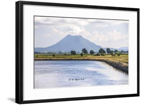 Mount Edgecumbe (Putauaki), Near Whakatane, Bay of Plenty, North Island, New Zealand, Pacific-Matthew Williams-Ellis-Framed Art Print