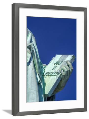 Statue of Liberty, Liberty Island, Manhattan, New York, United States of America, North America-Alan Copson-Framed Art Print
