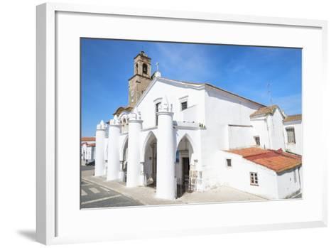 Santa Maria Da Feira Church, Beja. Alentejo, Portugal, Europe-G&M Therin-Weise-Framed Art Print