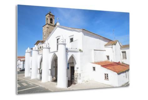 Santa Maria Da Feira Church, Beja. Alentejo, Portugal, Europe-G&M Therin-Weise-Metal Print