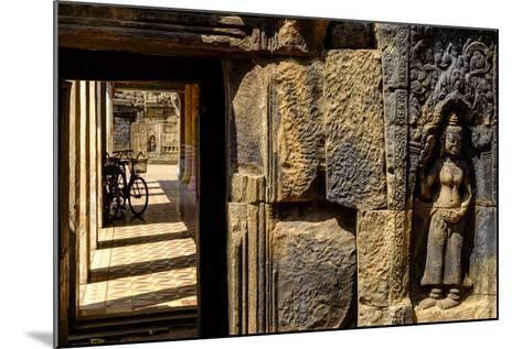 Vat Nokor, Angkorian Sanctuary Dated 11th Century, Kompong Cham (Kampong Cham), Cambodia, Indochina-Nathalie Cuvelier-Mounted Photographic Print