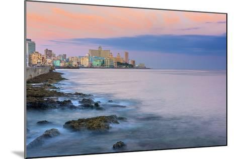 The Malecon, Havana, Cuba, West Indies, Caribbean, Central America-Alan Copson-Mounted Photographic Print