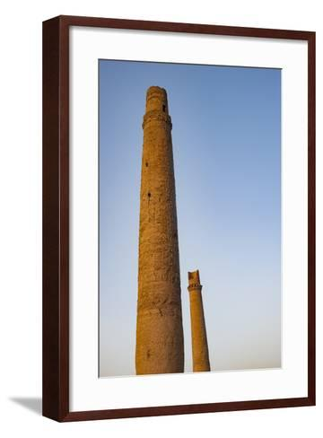 Minarets in Herat, Afghanistan, Asia-Alex Treadway-Framed Art Print