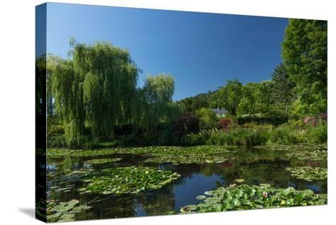 Monet's House Behind the Waterlily Pond, Giverny, Normandy, France, Europe-James Strachan-Stretched Canvas Print