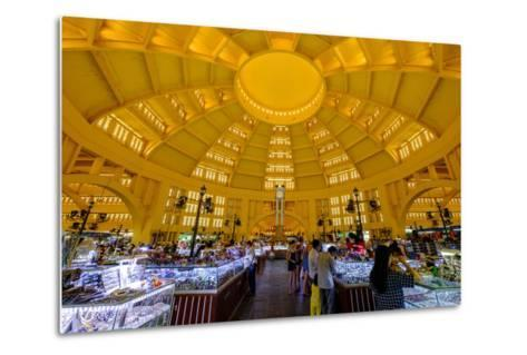 The Central Market, Built in 1937 in Art-Deco Style by the French Architect Jean Desbois-Nathalie Cuvelier-Metal Print