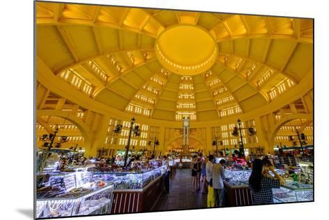 The Central Market, Built in 1937 in Art-Deco Style by the French Architect Jean Desbois-Nathalie Cuvelier-Mounted Photographic Print