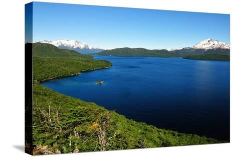 Silver Lake, Patagonia, Argentina, South America-Pablo Cersosimo-Stretched Canvas Print