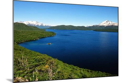 Silver Lake, Patagonia, Argentina, South America-Pablo Cersosimo-Mounted Photographic Print