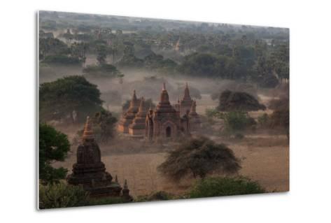 Ruins of Bagan (Pagan), Myanmar (Burma), Asia-Colin Brynn-Metal Print