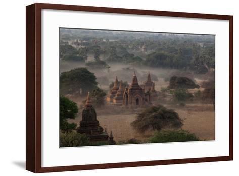 Ruins of Bagan (Pagan), Myanmar (Burma), Asia-Colin Brynn-Framed Art Print