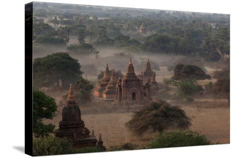 Ruins of Bagan (Pagan), Myanmar (Burma), Asia-Colin Brynn-Stretched Canvas Print