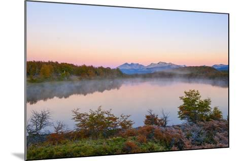 Lake in Autumn, Patagonia, Argentina, South America-Pablo Cersosimo-Mounted Photographic Print