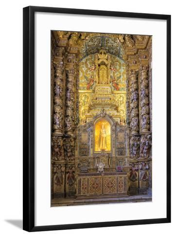 Main Altar, Convento De Nossa Senhora Da Conceicao (Our Lady of the Conception Convent and Church)-G&M Therin-Weise-Framed Art Print