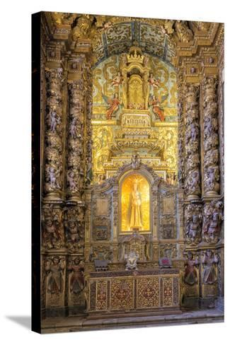 Main Altar, Convento De Nossa Senhora Da Conceicao (Our Lady of the Conception Convent and Church)-G&M Therin-Weise-Stretched Canvas Print