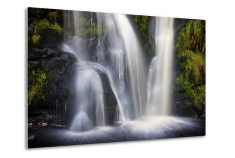Posforth Gill Waterfall, Bolton Abbey, Yorkshire Dales, Yorkshire, England, United Kingdom, Europe-Bill Ward-Metal Print