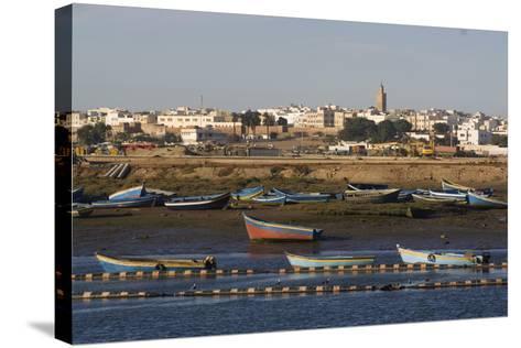 Harbour, Rabat, Morocco-Natalie Tepper-Stretched Canvas Print