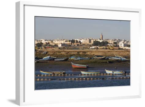 Harbour, Rabat, Morocco-Natalie Tepper-Framed Art Print