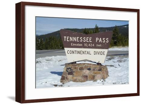 Tennessee Pass, Colorado-Natalie Tepper-Framed Art Print