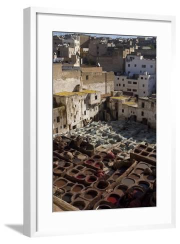 Tannery, Fes, Morocco-Natalie Tepper-Framed Art Print