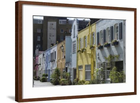 Mews Houses-Natalie Tepper-Framed Art Print