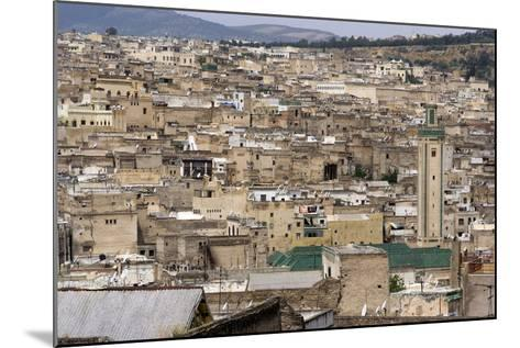 View of Fes, Morocco-Natalie Tepper-Mounted Photo