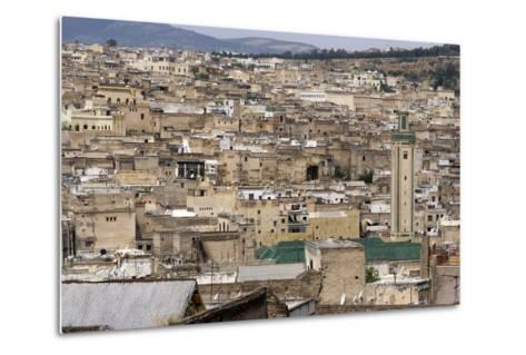 View of Fes, Morocco-Natalie Tepper-Metal Print