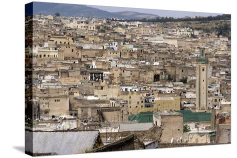 View of Fes, Morocco-Natalie Tepper-Stretched Canvas Print
