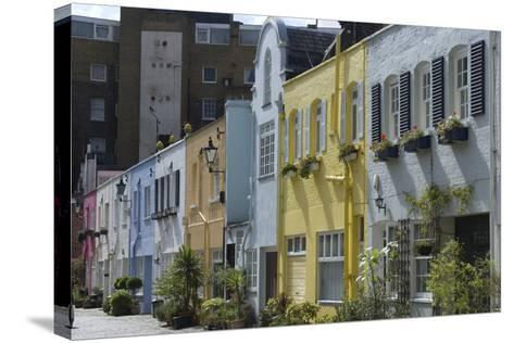Mews Houses-Natalie Tepper-Stretched Canvas Print