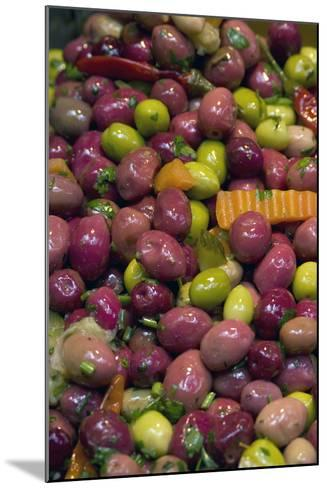 Olives, Fes, Morocco-Natalie Tepper-Mounted Photo