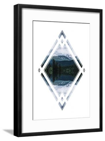 Diagonal Horizons 1-Port 106 Project-Framed Art Print
