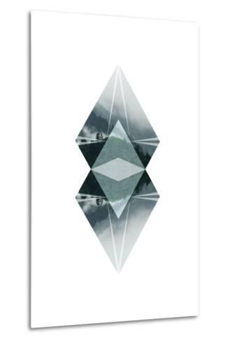 Diagonal Horizons 2-Port 106 Project-Metal Print