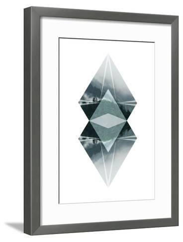 Diagonal Horizons 2-Port 106 Project-Framed Art Print